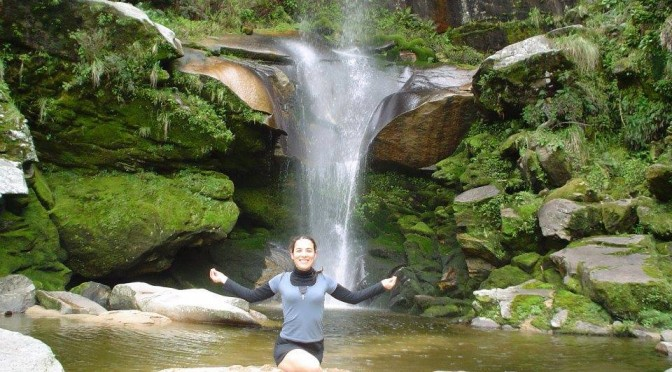 Yoga en las sierras